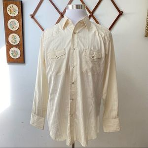 Wrangler Pearl Snap Button Western Shirt